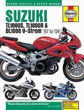 Suzuki TL1000S, TL1000R & DL1000 V-Strom '97 to '04 (Haynes Service & Repair Man
