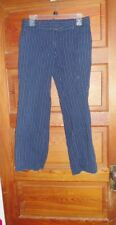 Tommy Hilfiger Navy/White Pinstriped Pants Size 4