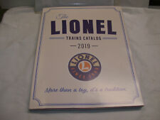 Brand New Lionel Trains Year 2019 Big 250 Color Page Catalog of HO, S & O GAUGE