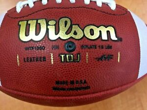 Wilson TDJ 1360 Traditional Leather Football