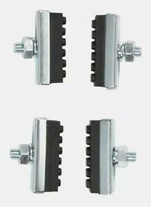 Bell Sports  Binder 100  Rubber  Bike Brake Pads  Black/Silver Sealed