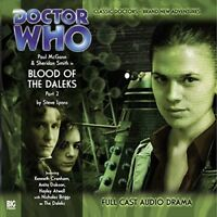 STEVE LYONS - DOCTOR WHO: BLOOD OF THE DALEKS PART 2  CD NEW