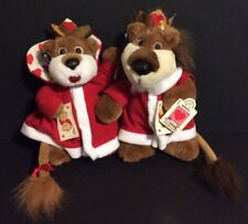 Lion Plush King And Queen Of Hearts Applause