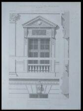PARIS, BIBLIOTHEQUE NATIONALE  - 1873 - GRAVURE ARCHITECTURE - HENRI LABROUSTE