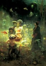 More details for ilya repin's sadko in the underwater kingdom repro art print a4 a3 a2 a1