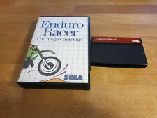 Enduro Racer Sega Master System OVP Boxed