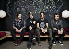 """018 All Time Low - Pop Punk Band Music Stars 20""""x14"""" Poster"""