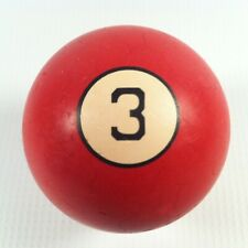 Vintage Clay Replacement Billiards/Pool Ball #3