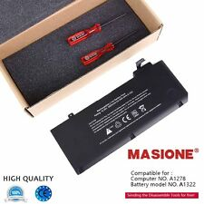 """A1322 Laptop Battery For Apple MacBook Pro 13"""" A1278 Mid 2009/2010/2011/2012"""