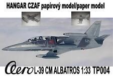 AERO L-39 CM paper model 1/33