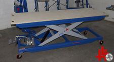 FEICHTNER Scherenhubtisch SHT 500XL Arbeitshöhe 1.070 mm Arbeitsplatte Multiplex