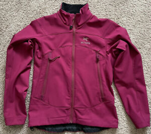 Arcteryx Women's Size XS Soft Shell Jacket Purple Polartec