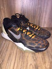 RARE🔥Nike Zoom Kobe VII 7 System Cheetah Black/Circuit  488371-800 Size 13