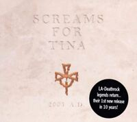 SCREAMS FOR TINA 2003 A.D.(CD, 4 track EP) goth rock, very good condition, 2003