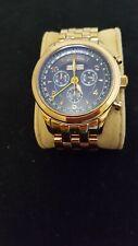 Invicta Triple Date Model 2947 Quartz Rose Gold Plated Watch