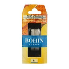 BOHIN Applique Needles Size 11 Pack of 15 Quilting Sewing Craft DIY