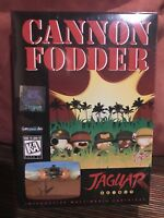 Cannon Fodder Atari Jaguar NEW Factory Shrinkwrap