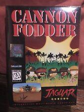 Cannon Fodder Atari Jaguar NEW Factory Shrinkwrap