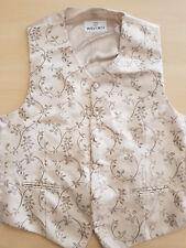Neuwertige Original Wilvorst Weste mit Krawatte und Tuch für Hochzeit Gr. L