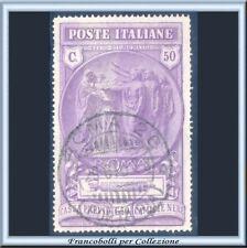 1923 Italia Regno Camicie Nere cent. 50 + 50 violetto chiaro n. 148 Usato
