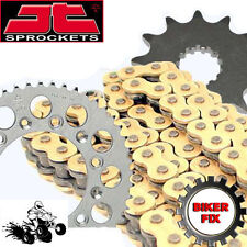 TRX300 EX FOURTRAX 1993-2008 GOLD X-Ring Chain and Sprocket Set Kit