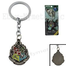 Harry Potter Wizard Hogwarts Logo Metal Key Chain Ring