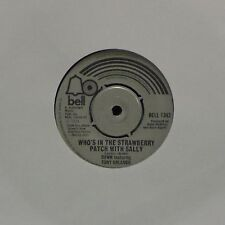 "DAWN 'WHO'S IN THE STRAWBERY PATCH WITH SALLY' UK 7"" SINGLE"