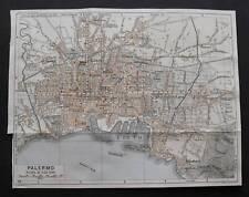 Antica Stampa=Topografica=PALERMO=Scala1:25000 -1909c.