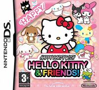 Happy Party with Hello Kitty & Friends Nintendo DS Game New & Sealed UK Version