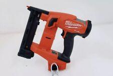 "Milwaukee 2749-20 M18 FUEL 18-Gauge 1/4"" Narrow Crown Stapler (Tool Only)"