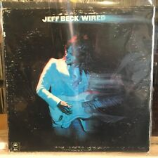 [Rock]~Exc Lp~Jeff Beck~Wired~[1981~Epic~Blu e Label~Reissue]~