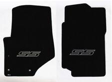 NEW! 2007-2009 Trailblazer Floor Mats Black Carpet Embroidered SS Logo in Black