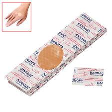 200 PCS Mini Round Disposable Medical Adhesive Bandage Band-aid Woundplast GG