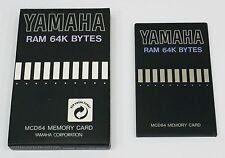 Yamaha MCD64 for SY/TG series RAM 64K BYTES MEMORY CARD - Brand New -