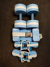 SPEEDO Aquatic Fitness Equipment Lot JogBelt Dumbbells Foot Float Resistance