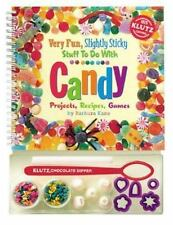 Very Fun, Slightly Sticky Stuff to Do with Candy Kane, Barbara Spiral-bound