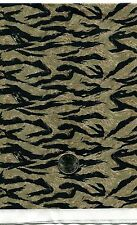 "1/6 Scale Golden Tigerstripe Camouflage Model Miniature Fabric 21"" x 18"" Sheet"