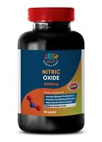 muscle recovery supplement - Nitric Oxide 2400mg 1 Bottle - muscle soreness