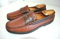 Allen Edmonds Lagrange Handsewn Leather Loafer LaRomana Siped Boat Sole Men 9 D