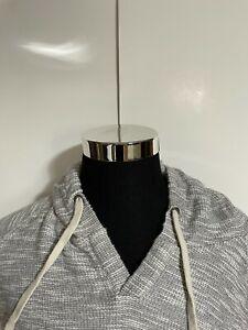 American Eagle Gray hoodie sweater pullover sweatshirt size XXXL 3XL Mens