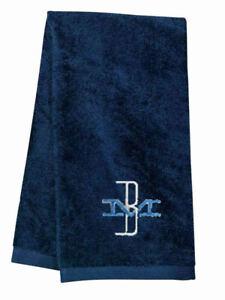 Boston & Maine McGinnis Logo Embroidered Hand Towel 100% USA cotton terry velour