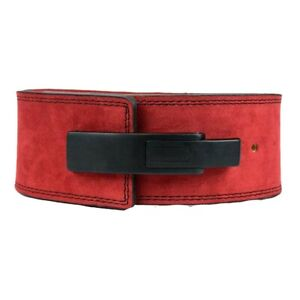 Powerlifting Belt with Lever Buckle - Weightlifting Lever Power Belt