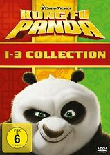 Kung Fu Panda - 1+2+3 Collection (DreamWorks) # 3-DVD-BOX-NEU