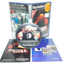 SECOND SIGHT - Ps2 Playstation Play Station 2 Gioco Game