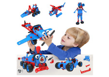 Puzzle- 6-in-1 educational building toy for 5 6 7 8 9 10years old boys and girls