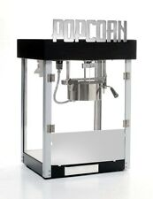 Popcorn Machine 4 oz Black Metropolitan art deco