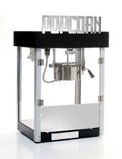 Popcorn Machine 4 oz Black Metropolitan art deco