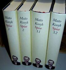 MATO KOSYK Lot of 4 Hardback Books written in Sorbian SPISE 1 2 3.1 3.2