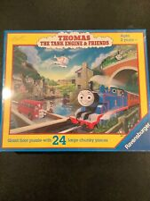 Thomas The Tank Engine Giant Floor Puzzle With 24 Pieces New In Box 2 Yrs & Up