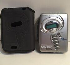 Vintage Sony Walkman WM-FX271 MegaBass Portable Cassette Tape Player with Case